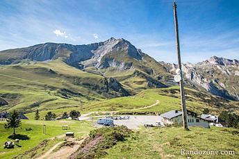 Début de la randonnée au col du Soulor