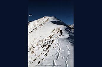 Au Bergons en hiver