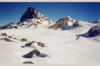 Circuit des lacs d'Ayous glacés