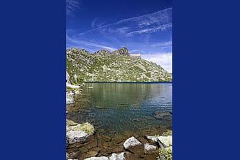 Lac de la Glère et son refuge