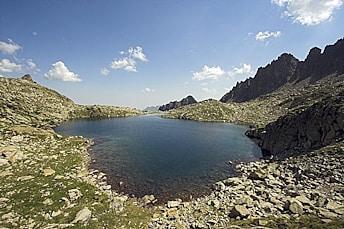 Lac de Casdabat en revenant du lac Grand