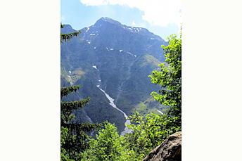 Montée au Lac du Lauvitel, Massif des Ecrins