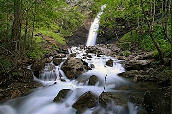 Vallouise : Cascade de la Pissette