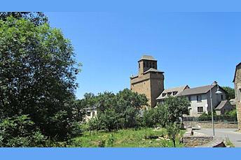 Eglise d'Inières, en Aveyron