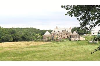 Paysage près du château du Bousquet