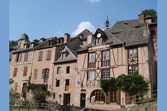 Conques, village Aveyronnais