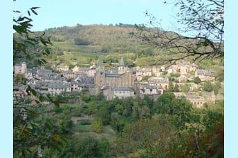 Conques un des Plus Beaux Villages de France