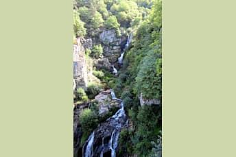 Cascade du Saut du Chien, vue depuis le promontoire numéro 1