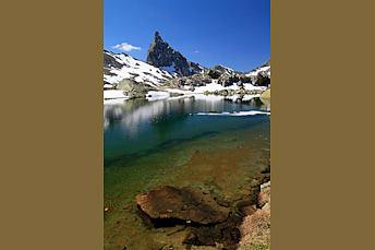 Lac Blanchet Supérieur dans le Queyras