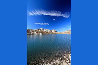 Lac Rond dans les Hautes-Alpes