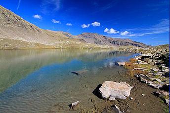 Randonnée au lac Palluel en septembre 2011
