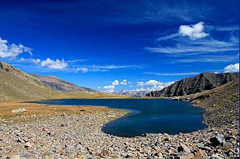 Randonnée au lac Faravel