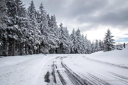 Accéder aux points de départ en hiver