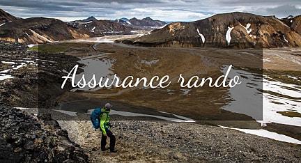 Une assurance en randonnée
