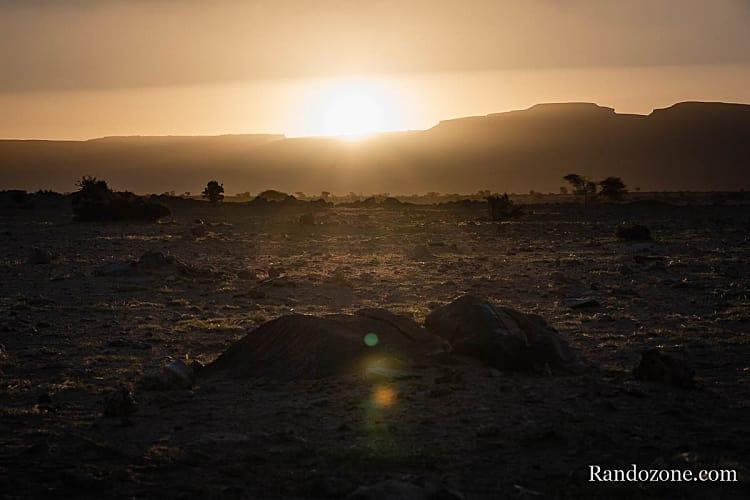 Superbe lumière en Mauritanie