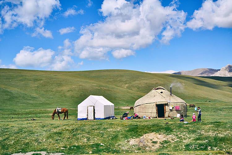 Guide de la randonnée et du trekking au Kirghizistan