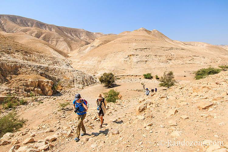 Guide de la randonnée et du trekking en Israël