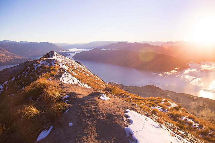 Randonnée et trekking en Nouvelle Zélande : Roys Peak