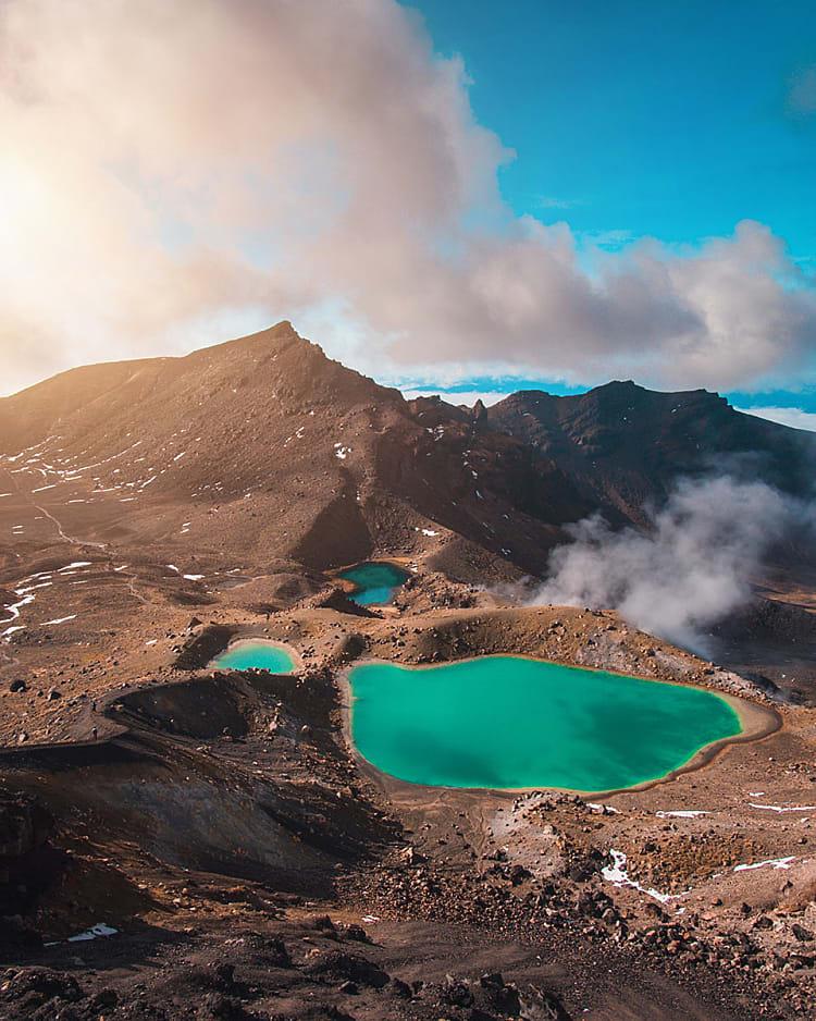 Tongariro National Park, Nouvelle Zélande
