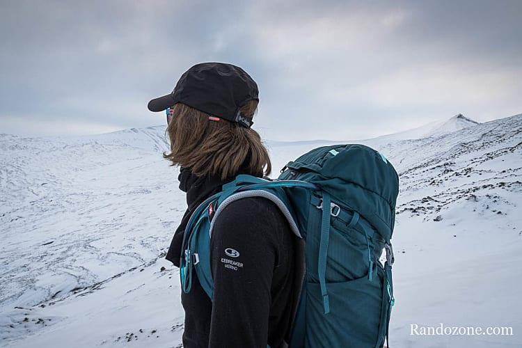 Sac à dos Millet Ubic 30 Femme dans le Svalbard
