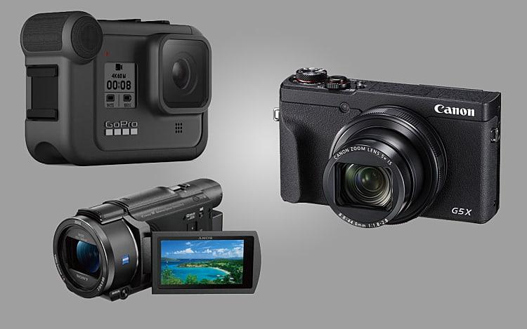 Choisir une caméra pour filmer des randonnées