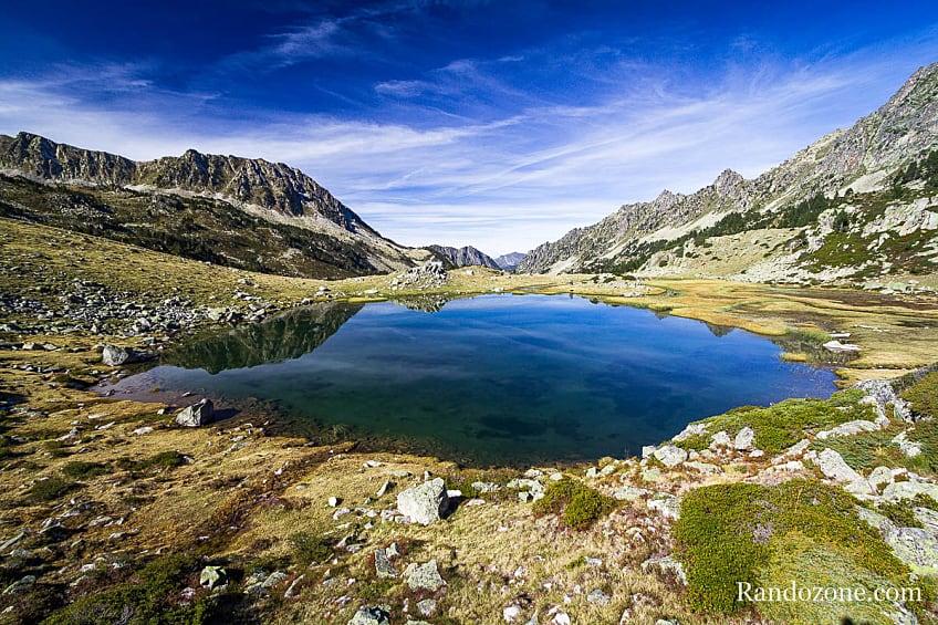 Lac de Couela Gran dans les Hautes-Pyrénées