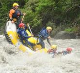 Rafting dans les gorges de l'Aude
