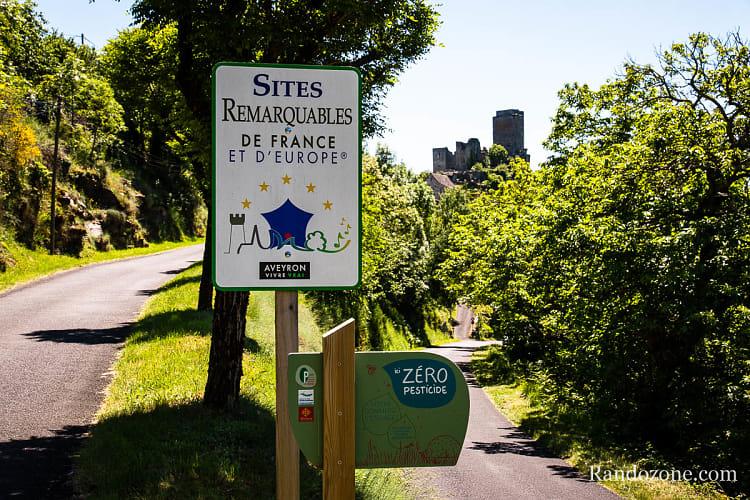 Point de vue sur le château