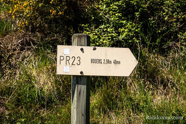 PR 23 vers Rouens