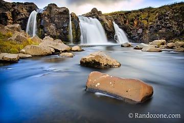 Cascade en Islande