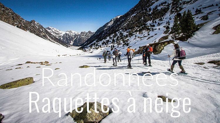 Tout savoir sur la randonnée en raquettes à neige