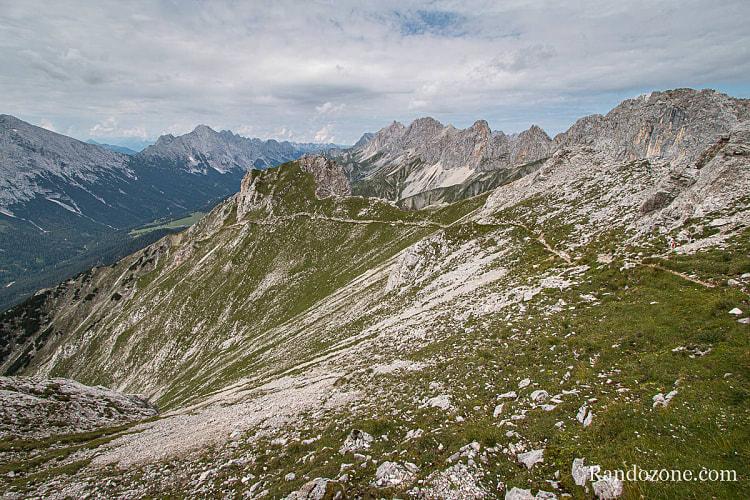 Randonnée au Gehrenspitze