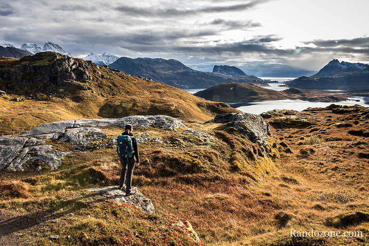 Randonnée Ryten Norvège
