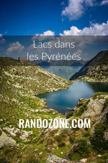 Lacs dans les Pyrénées