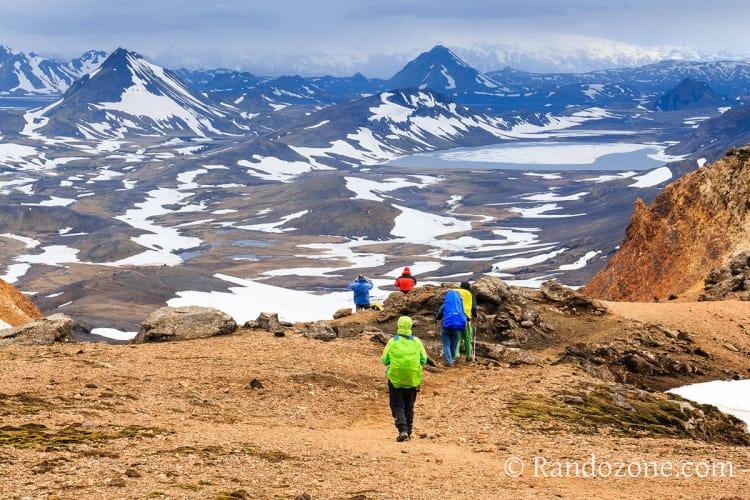 Trekking et randonnées en Islande
