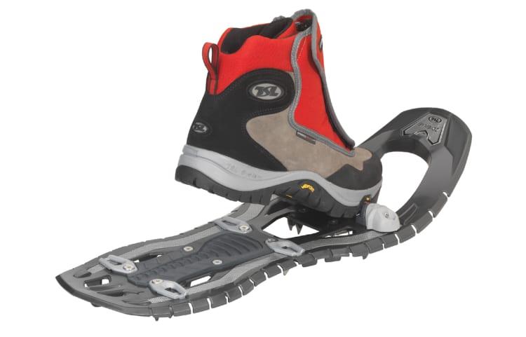 Raquettes à neige et chaussures avec attache step in de TSL