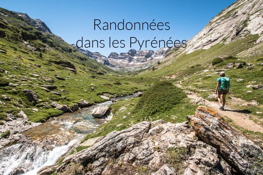 Randonnées dans les Pyrénées : topos et traces gps