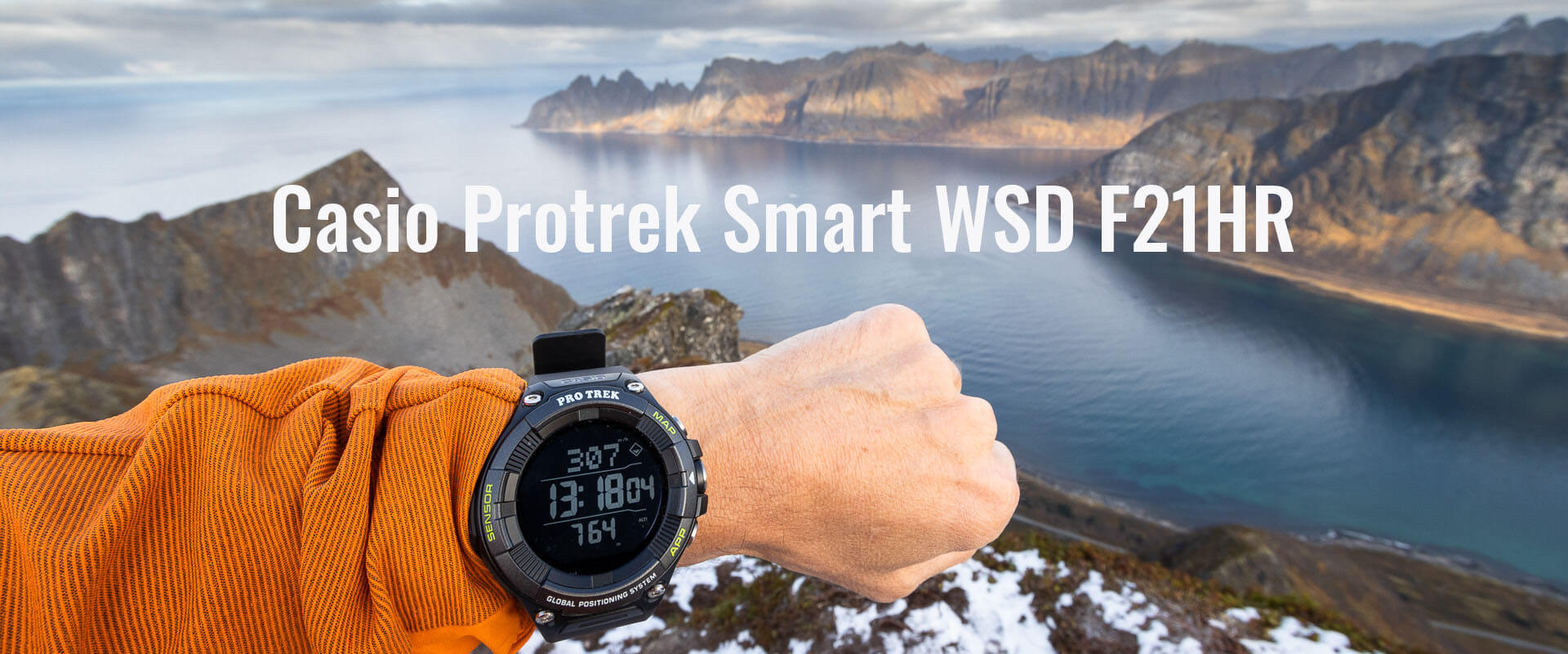 Casio Protrek Smart WSD F21HR