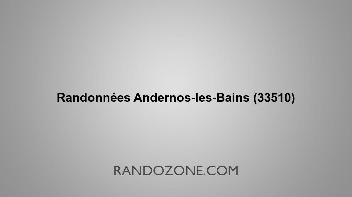 Randonnees Andernos Les Bains 33510 Topos Et Traces Gps
