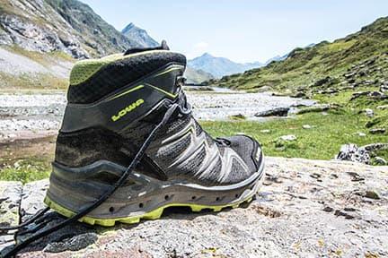 Actualité : Test des chaussures Lowa Aerox Gtx