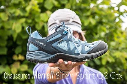 Actualité : Test des chaussures Merrell Siren Sport Q2 Gore-Tex