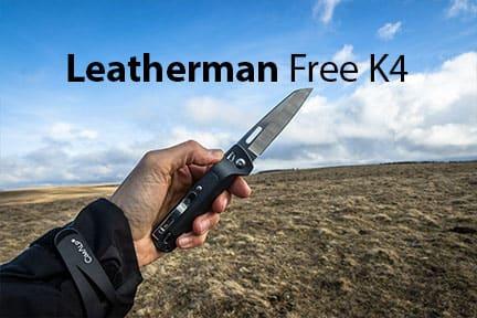 Actualité : test du couteau Leatherman Free K4