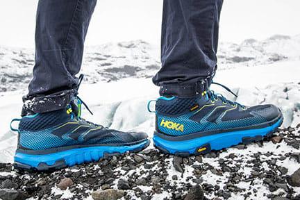 Actualité : Test des chaussures de rando Hoka One One Toa
