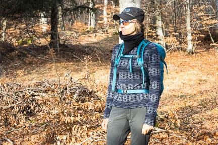 Actualité : Tee shirt Icebreaker 250 Vertex Half Zip Crystalline