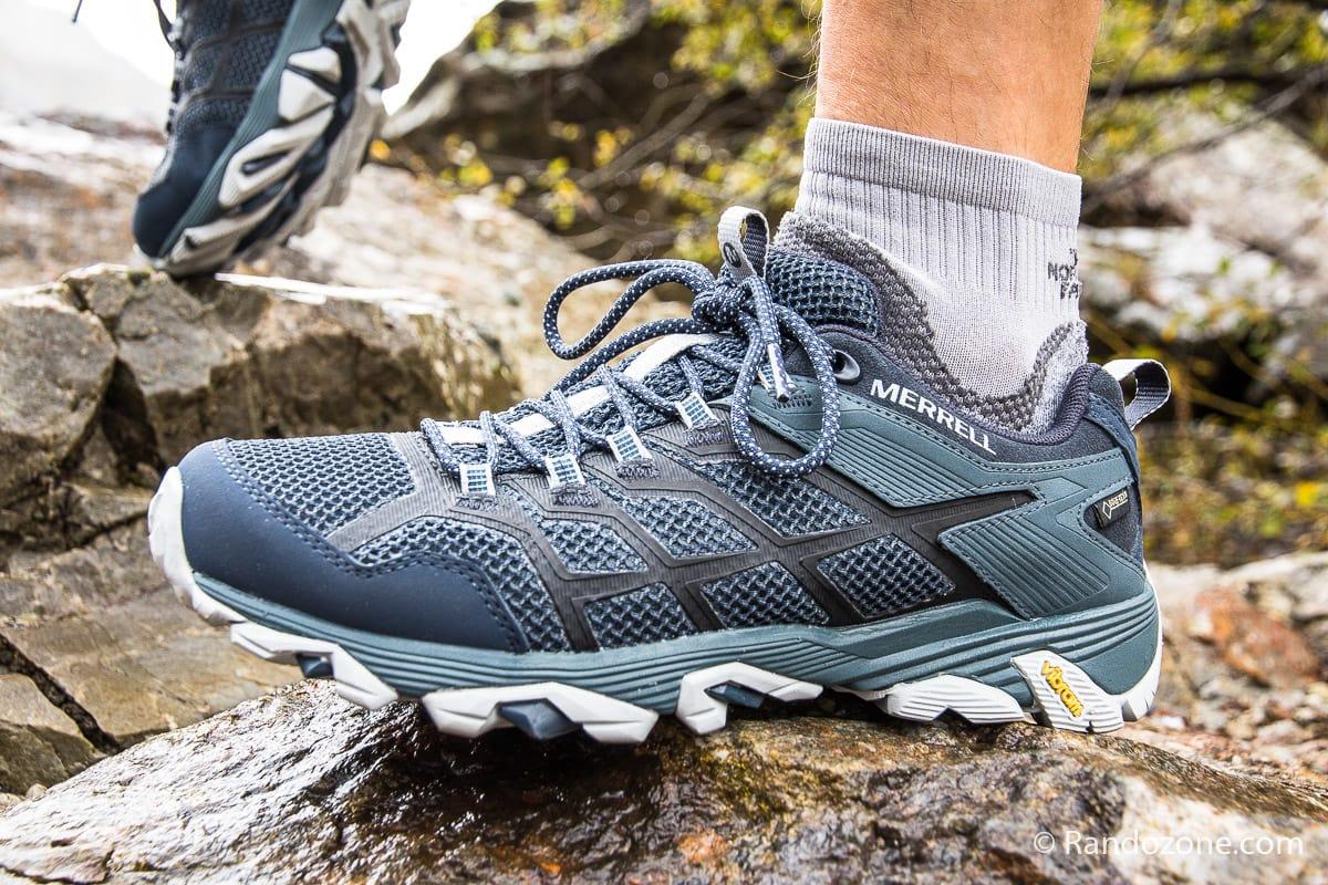 Test et avis : Chaussures de trail Merrell Moab FST 2 GTX