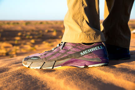 Actualité : Chaussures Merrell Bare Access Flex Shield