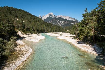 Actualité : Sortie VTT dans la vallée du Karwendel