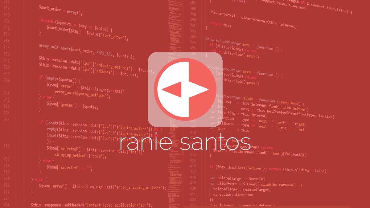 Projects | Ranie Santos