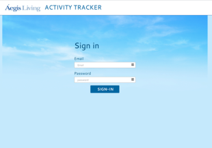 Aegis Activity Tracker