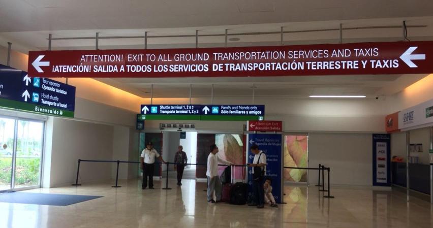 Cancun International Airport - Terminal 4 Exit